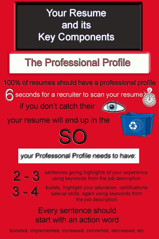 do you have a professional profile on your resume